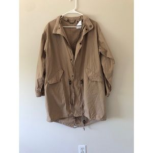 Capulet Beige Light Trench Jacket